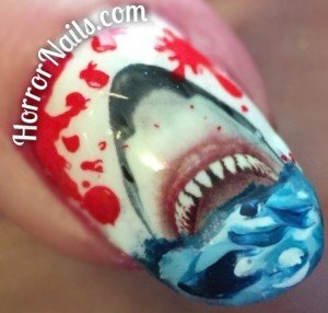 Jaws Nail Art - Thumb